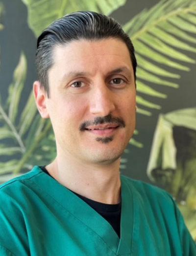 Dentista responsável pelo Centro Odontológico de Chêne-Bourg